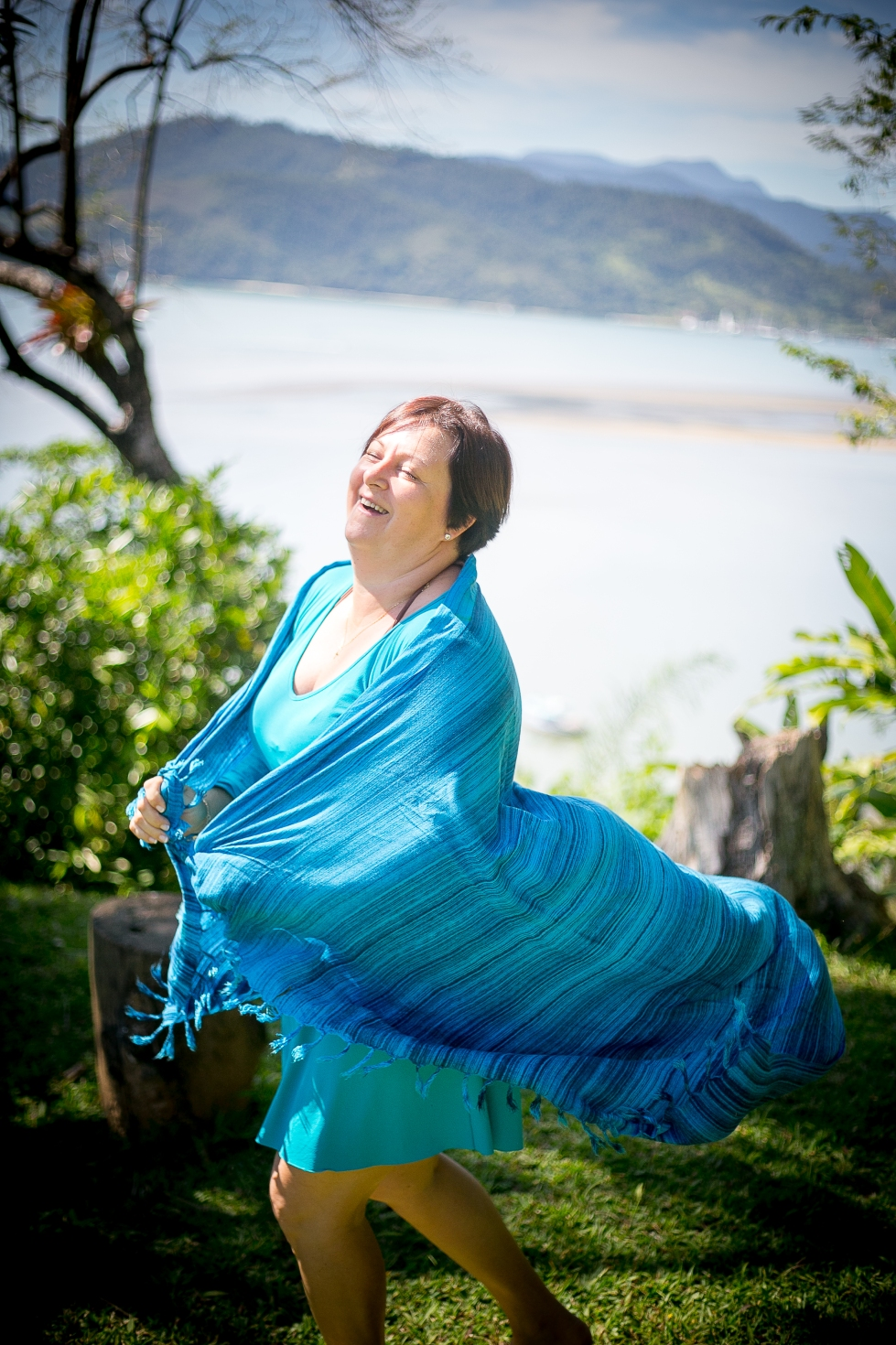 Tania Teodoro em Paraty