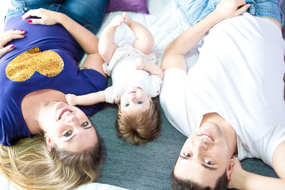 Manu 6 meses - Ensaio LifeStyle