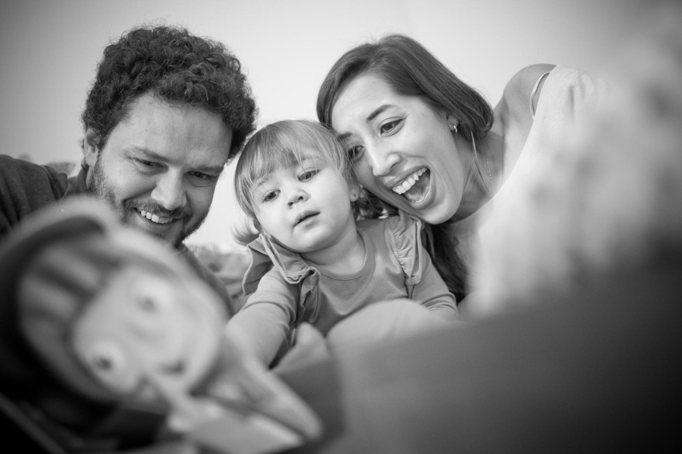Uma linda família [lifestyle]